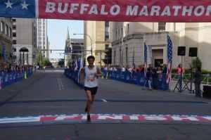 The Buffalo Marathon May 24 finish